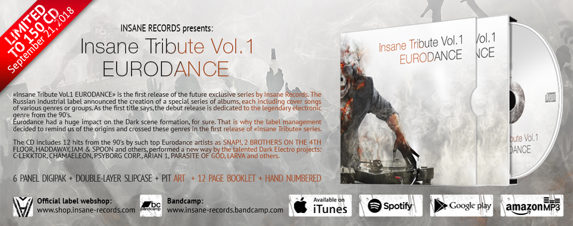«Insane Tribute Vol.1 EURODANCE»