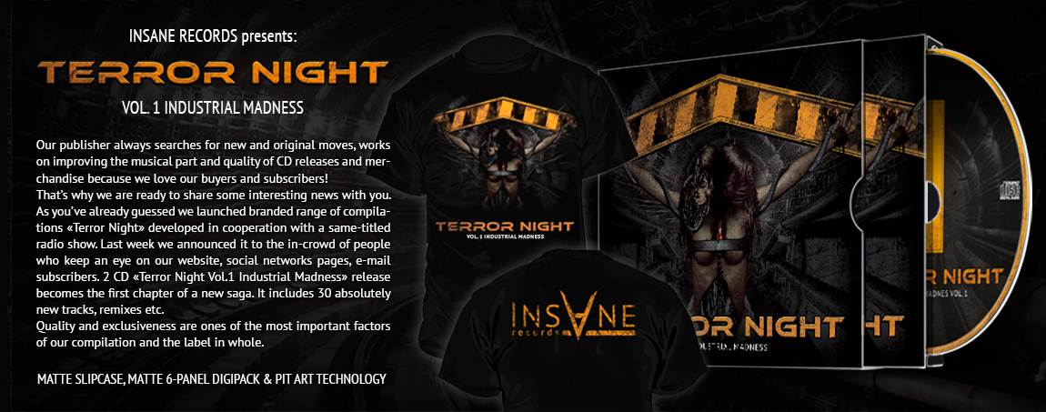 V/A - «Terror Night Vol.1 Industrial Madness Vol.1»